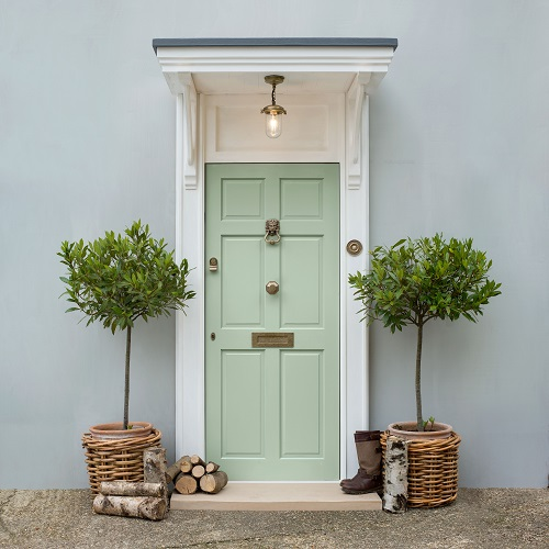 front door furniture antiuqed brass by jim lawrence