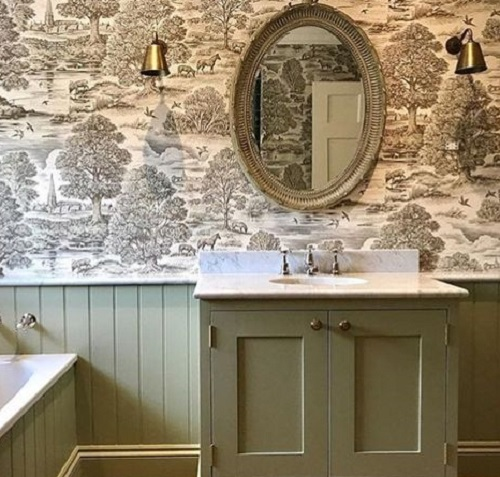jim lawrence bathroom wall lights antiqued brass wallpaper