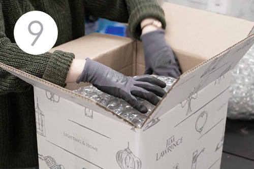 Jim Lawrence Packing team orders and delivery